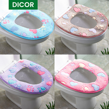 Seat-Accessories Toilet-Cover-Set Home-Decor Universal Soft New Warm 15-Styles Paddy