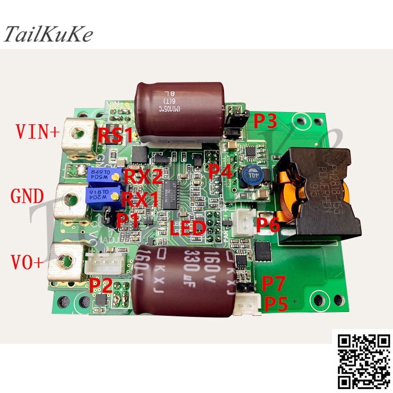 DC-DC Automatic Buck-boost Power Supply 140V High Voltage Output Voltage and Current Adjustable 20A