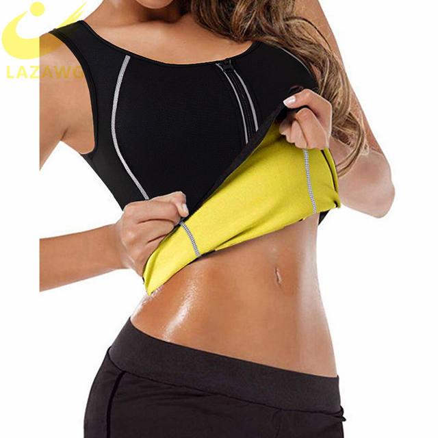 Neoprene sauna suit for women, hot sweat, training vest