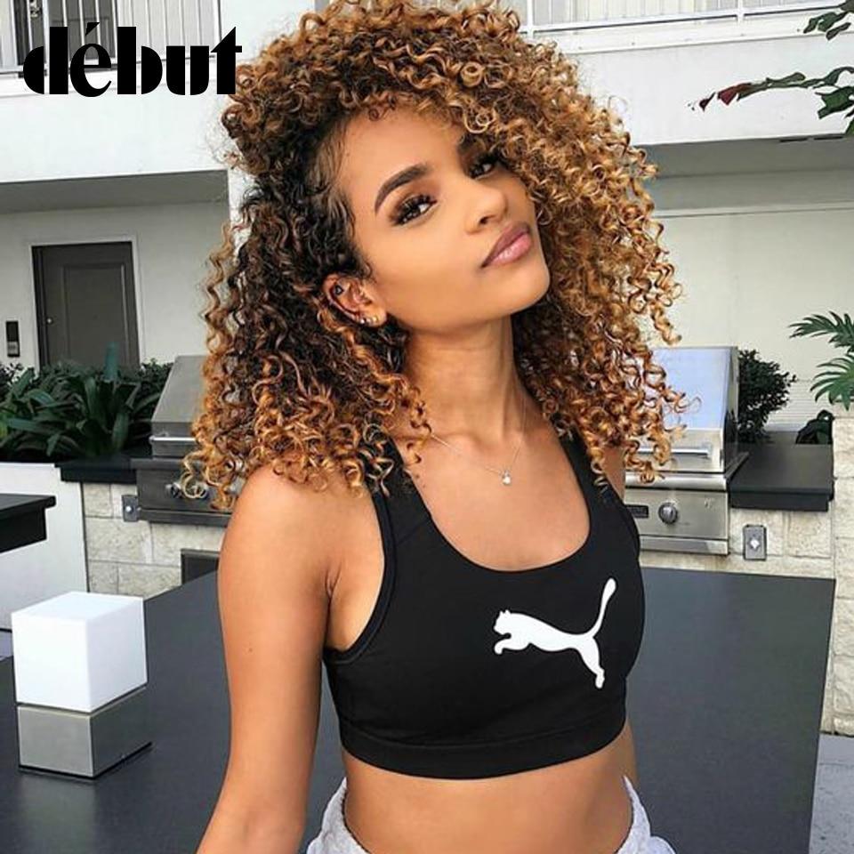 Debut Jerry Curly Wig Human Hair Bob Ombre Remy Human Hair Wigs For Black Women Brazilian Short Bob Wig T1B/4/27 Free Shipping