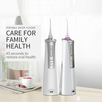 Electric Water Jet Dental Flosser For Cleaning The Oral Dental Faucet Irrigator Teeth Cleaner Portable Power Water Floss Pick