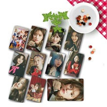 10Pcs/Set TWICE FANCY YOU New Album Photo Cards Self Made Paper Photocard Crysta