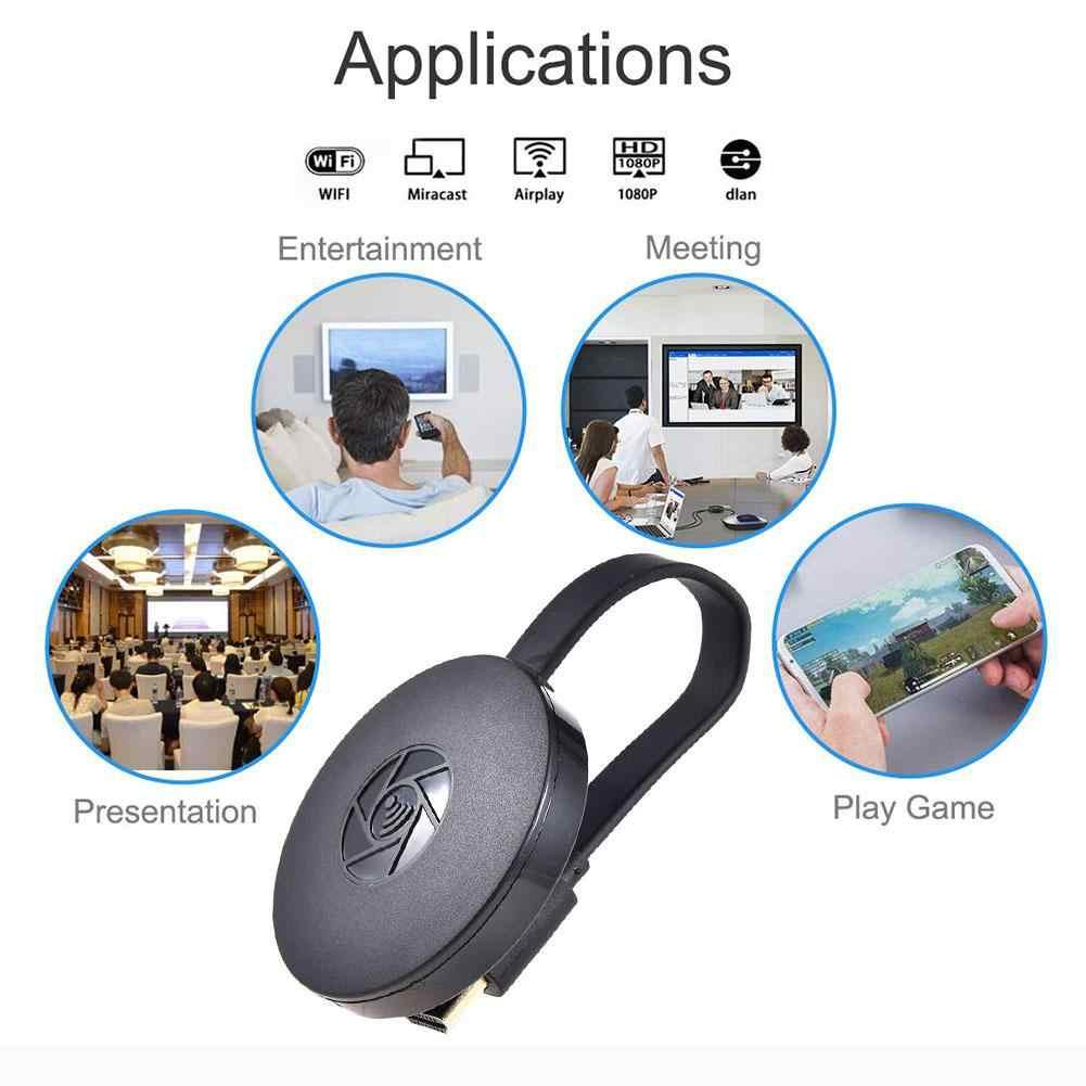 Yeni 2nd Nesil Mirascreen Dijital HDMI Medya Video Streamer TV çubuk mini PC Akıllı TV HD Dongle Kablosuz WiFi Ekran Dongle