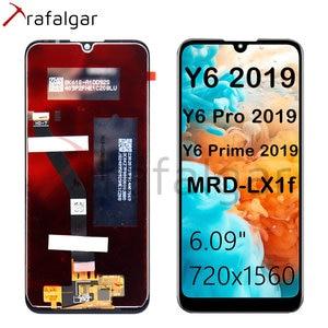 Image 3 - Trafalgar Display For HUAWEI Y6 2019 LCD Display Touch Screen For Huawei Y6 Prime 2019 Display With Frame Y6 Pro 2019 MRD LX1f