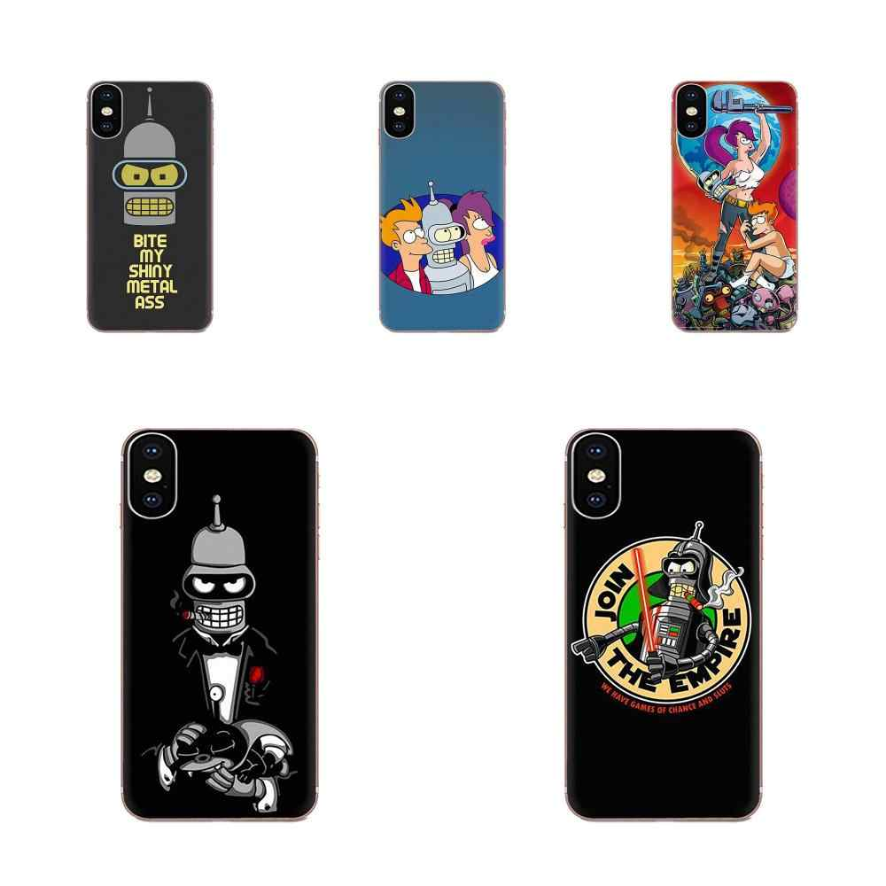TPU Phone Coque For Samsung Galaxy Note 5 8 9 S3 S4 S5 S6 S7 S8 S9 S10 5G mini Edge Plus Lite Futurama Hot Printed