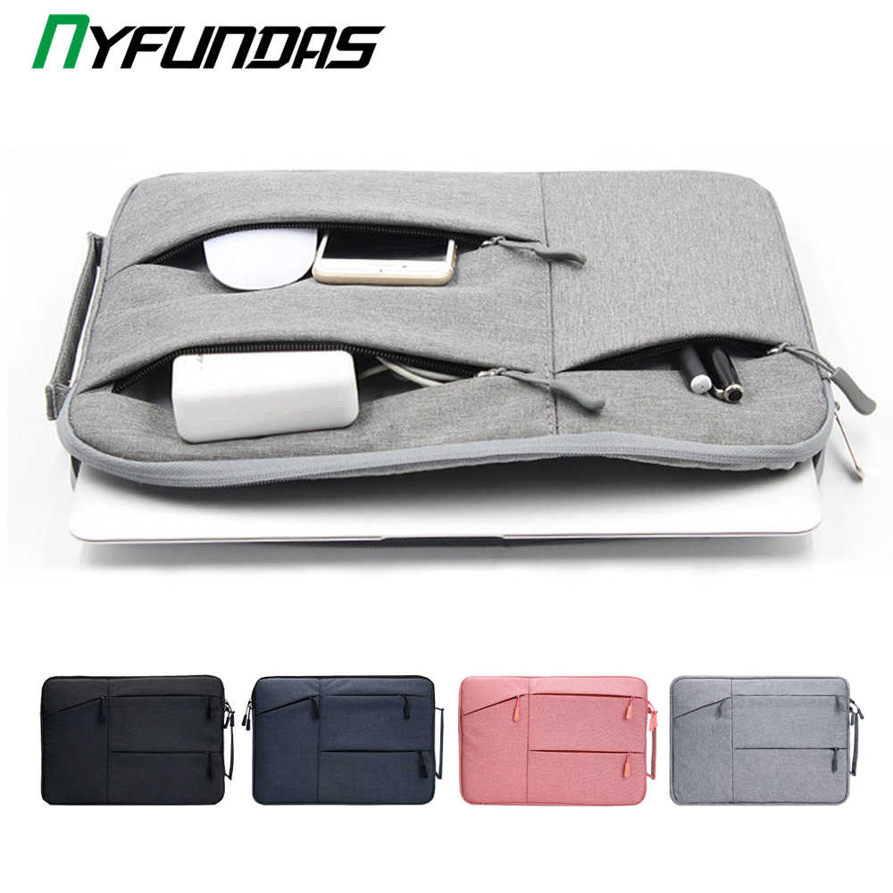 Laptop Tas 13 Voor Macbook Air Pro Retina 11 12 13 14 15 15.6 Inch Laptop Sleeve Case Pc Tablet case Cover Voor Xiaomi Air Hp Dell