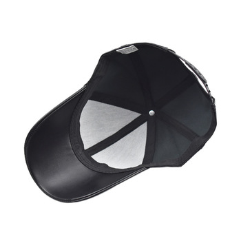 2020 High Quality Genuine Leather Baseball Cap Men Solid Outdoor Casual Snapback Caps Hip Hop Bone Masculino Gorra Trucker Hats