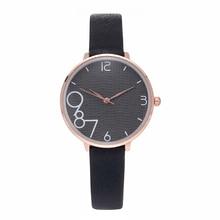Мода повседневная аналоговые Кварцевые наручные часы для женщин мода простой женские часы черные женские модели браслет часы релох Мухер