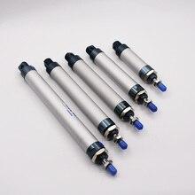 Cilindro de ar pneumático magnético tipo liga de alumínio, frete grátis, 25mm de alcance de 25 500mm