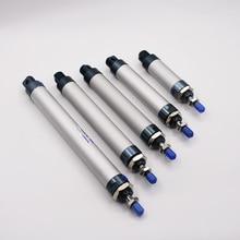 Gratis Verzending Mal Type Aluminium 25 Mm Boring 25 500 Mm Slag Single Rod Magnetische Pneumatische Cilinder