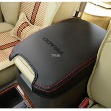 Genuine Leather Car Armrest Box Cover for Toyota Land Cruiser Prado 150 2010 2012 2013 2014 2015 2016 2017 2018 2019 2020