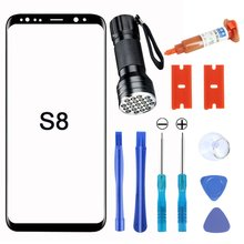 Front glass cover screen Protector for Samsung Galaxy S8 Galaxy S9 Galaxy S10 Galaxy note 8+Glass Lens Replacement Tool cheap OCDAY