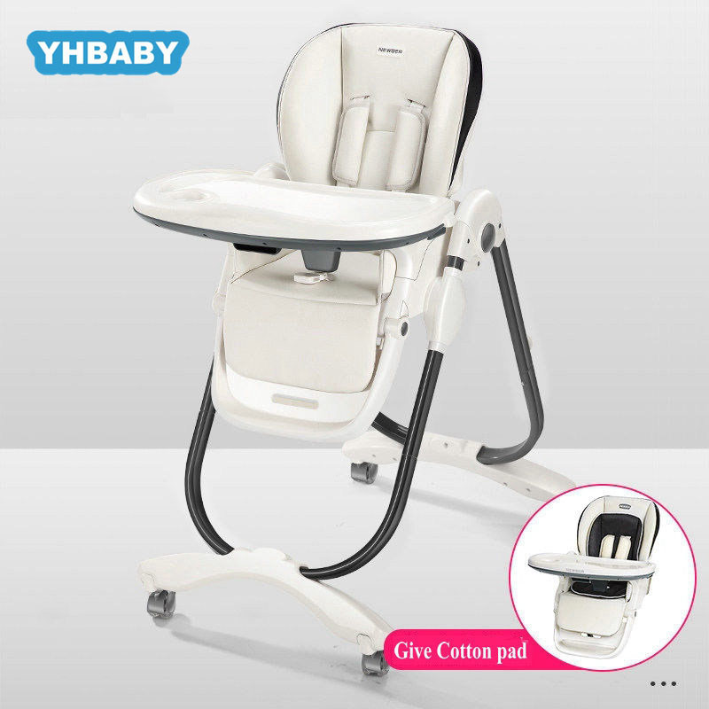 Children's High Chair Baby Dining Chair Aluminium Alloy Dining Foldable Portable Baby Chair Multifunctional Dining Chair