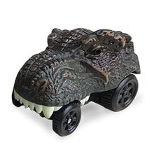 2 стили динозавр вагоностроительный игрушки динозавр Тиранозавр автомобили автомобили гоночные автомобили модели мини-игрушки автомобиль игрушки аксессуары для малыша