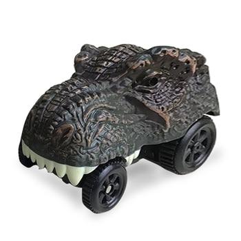 2 Styles Dinosaur Railway Car toys dinosaur cars Racing Cars Tyrannosaurus cars Model Mini Toys Back Car toy Accessories For kid cars cars cars page 2
