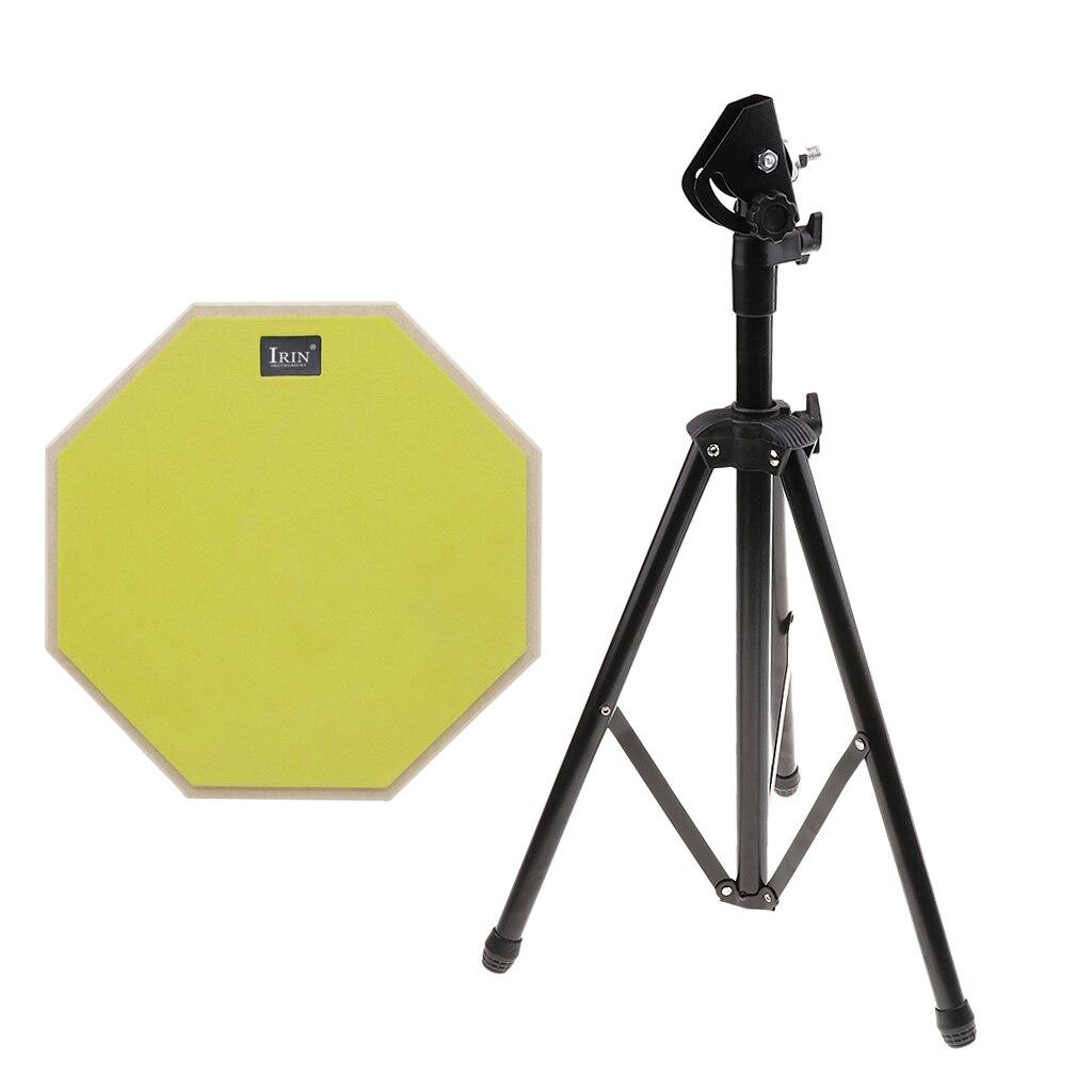 Durable 12 pouces pratique muet tambour avec support de support effectuer accessoire de pratique