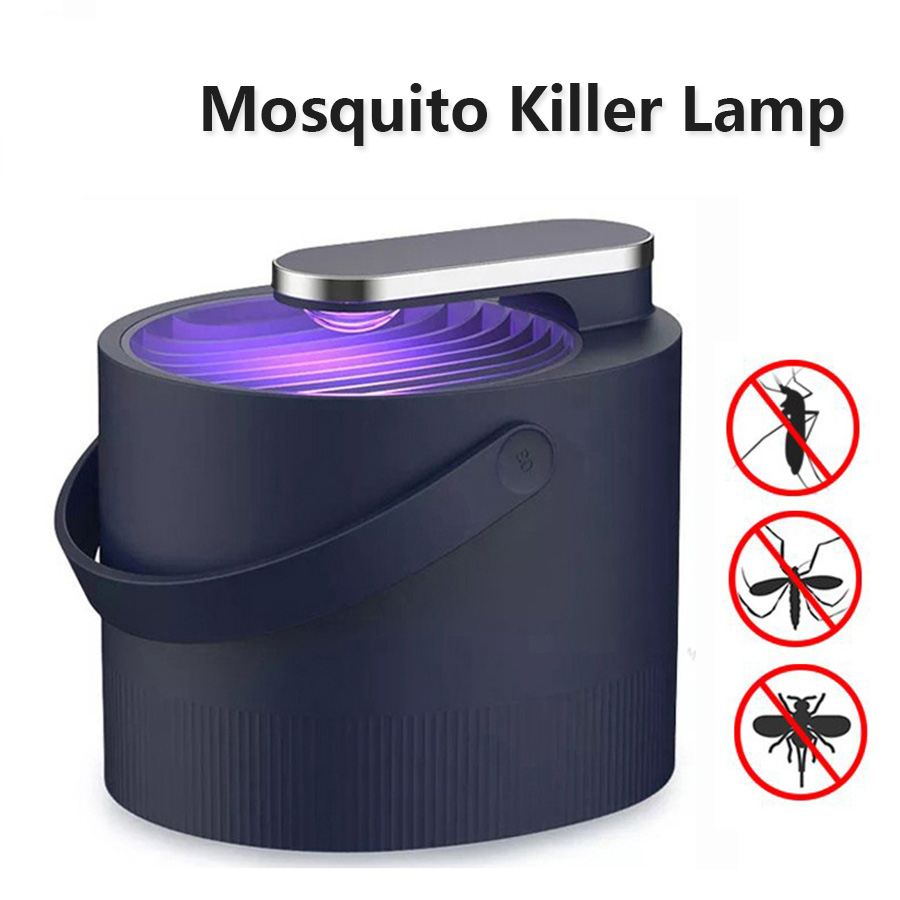 Newest USB Mosquito Killer Lamp Electric UV Photocatalyst Mosquito Repellent Insect Killer Lamp Trap Smart Light