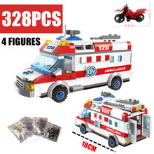 New 1118 Enlighten City Ambulance Nurse Doctor First Aid Fit City Figures Friends Building Block Bricks Diy Toys Kid Gift mary maccracken city kid