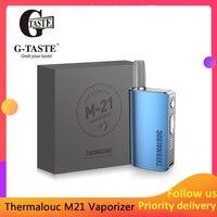 G taste Thermalouc M21 heat no burn Vaporizer 2900mAh Kit for Tobacco/Marijuana Electronic Cigarette Kit vs Kamry GXG I2