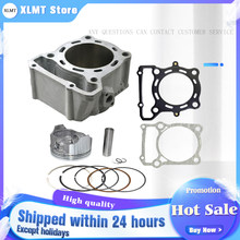 Motorcycle Engine Parts For KAWASAKI KLX250 KLX300 KLX 250 KLX 300 Air Cylinder Block & Piston Kit & Head & Base Gasket Kit