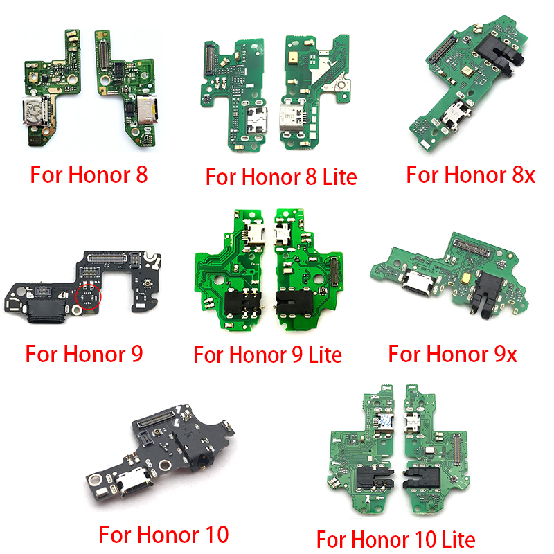 USB Power Charging Connector Plug Port Dock Flex Cable For Huawei Honor 20 Pro 5A 5X 10 9X 8X Max Play 8C 8 9 Lite 9S