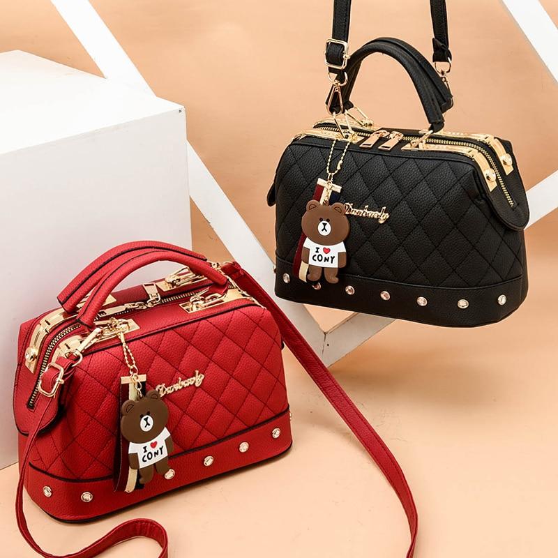 Luxury Handbags Women Bags Designer Crossbody Bags For Women Ladies Hand Bags 2019 PU Leather Tote Shoulder Bag For Ladies Brand