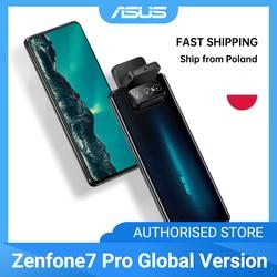 ASUS Zenfone 7/ 7Pro 8 ГБ ОЗУ 256 Гб ПЗУ Snapdragon 865/865Plus 5000 мАч NFC Android Q 90 Гц 5G смартфон глобальная версия