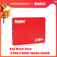 "Nouveau KingSpec HDD 2.5 ""SATA SSD 120GB 240GB SSD 480GB 960GB SATAIII disque dur Disco disque dur interne Duro pour ordinateur portable tablette de bureau(China)"