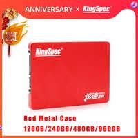 "Novo kingspec hdd 2.5 ""sata ssd 120 gb 240 gb ssd 480 gb 960 gb disco rígido sataiii disco rígido disco rígido interno duro unidade para computador portátil tablet desktop"