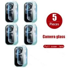 Стекло для объектива камеры Xiaomi Redmi Note 10 Pro Max 9S 10T 9T 8T Mi 11x 11i 11Lite, ультрастеклянный чехол Poco X3 NfC F3 Pro, 5 шт.
