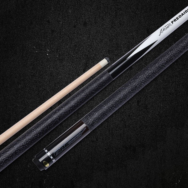 2020 NEW JY06 Model Billiard Pool Cue Stick 13mm 11.5mm 10mm Tip Size Linen Wrap Handle Black 58'' Length China