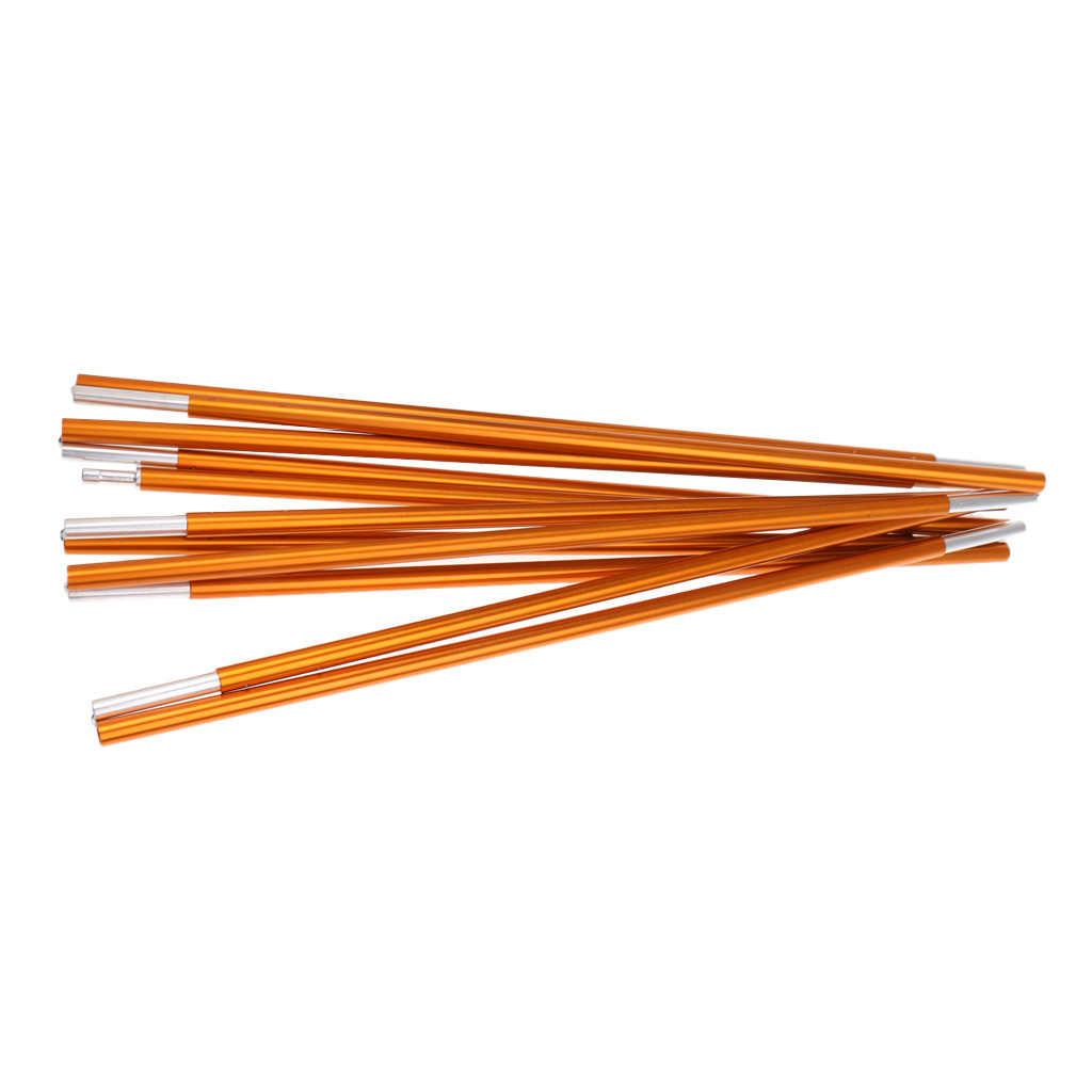 ความแข็งแรงสูงน้ำหนักเบาอลูมิเนียมเต็นท์เสา Rod Bar 11 ส่วน 355 ซม.Φ8.5mm