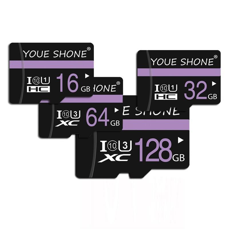De alta velocidad Class10 sd micro tarjeta sd micro 128gb 64gb 32gb 16gb 8gb tarjeta de memoria SDHC/SDXC mini tf tarjeta Cartao de memoria