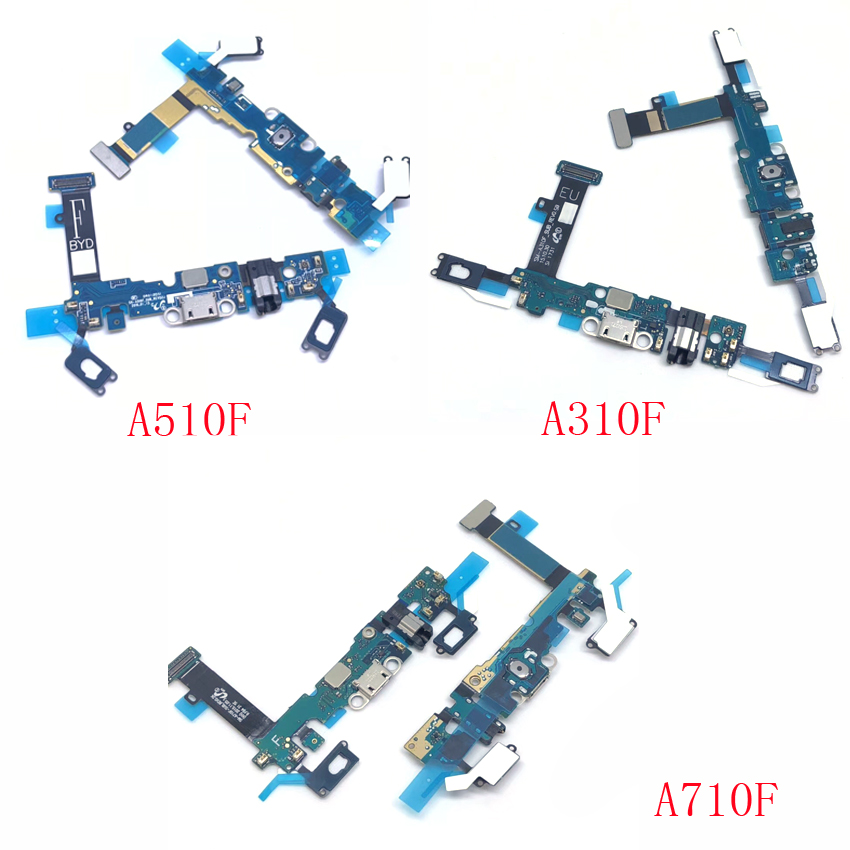 For Samsung Galaxy A3 A5 A7 2016 A310F A510F A710F Usb Charger Port Dock Connector Flex Cable Repair Parts