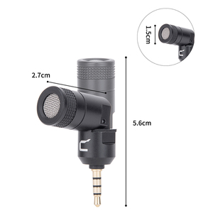 Image 5 - COMICA CVM VS07 Omnidirectional Mini Microphone for GoPro DSLR Camera Phone Stabilizer Mic for Video Recording(3.5mm TRRS)