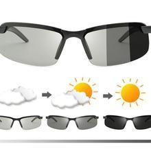 VAUN Triathlon Discolorat Cycling Glasses Bike Riding Discolorat Goggles Driving Fishing Outdoor RUN