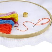 Weiy Cross Stitch Cloth,11Ct Cross Stitch Fabric Aida Cloth Embroidered Plain Cloth for DIY Embroidery Craft,White,B