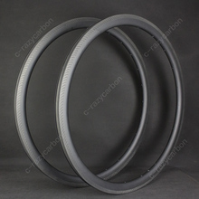 Carbon Bike Rims High Quality 3K Weave 38mm Depth Climbing Road Bicycle with Special Brake Track 700C Free Shipping