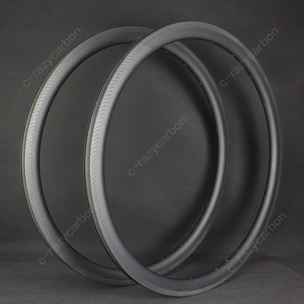 Discount Custom Road Bicycle Wheels AC3 Brake Track Road Bicycle Rims 3K Weave 35mm Depth Climbing Road Bicycle|Rims| |  - title=