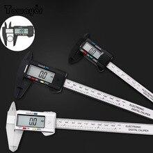 Digital Ruler Electronic-Digital-Caliper Gauge Micrometer-Measuring-Tool Carbon-Fiber