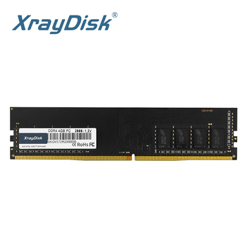 XrayDisk DDR4 4GB 8GB ram  2400MHz  2666MHZ 16GB 2666MHZ 1.2V PC DIMM Desktop Memory Support motherboard ddr4 kingston memory intel gaming memory ddr4 ram 8gb 4gb 2400mhz 16gb 1 2v 288 pin pc memory ram for desktop memory sticks