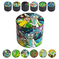 4 Layers Zinc Alloy Metal Dry Herb Tobacco Weed Grinder Smoke Accessories for Hemp Pepper Pot Spice Mill