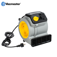 Vacmaster Floor Dryer, Ground Blower, Portable Air Mover For House, 3 Speed, 19M/S, 550CFM
