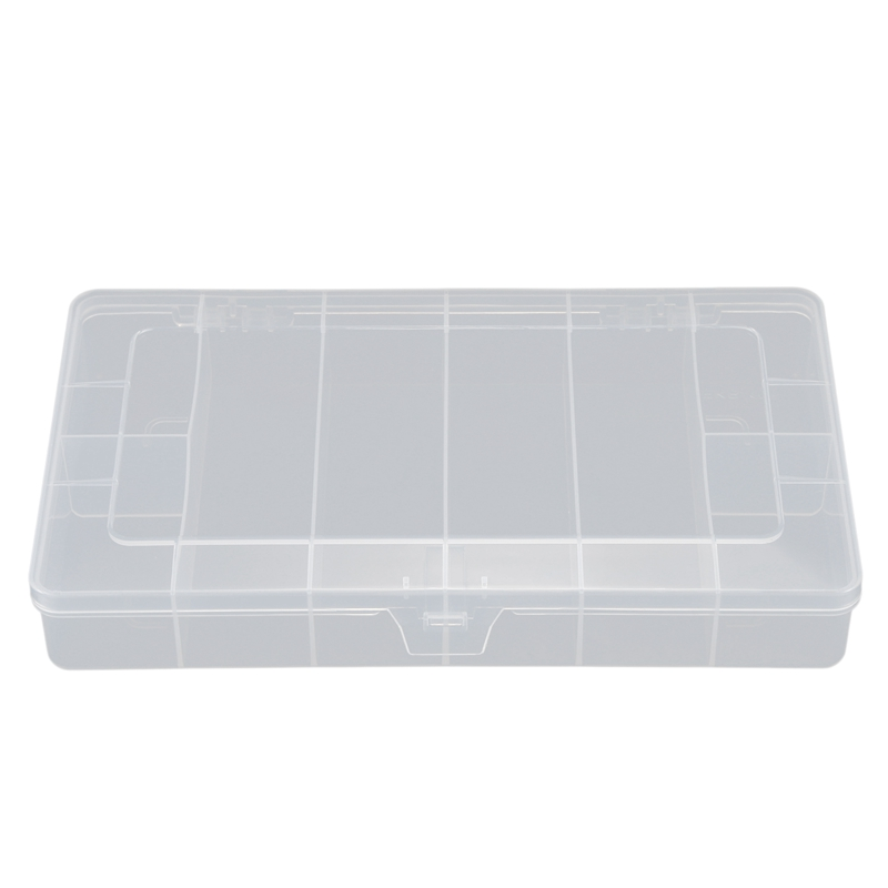 Practical Boutique Plastic 8 Compartments Multifunctional Electronics Tool Parts Gadgets Storage Box Case Organizer Container Di