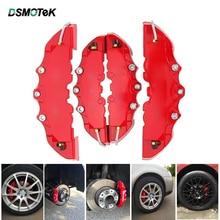Универсальный автомобильный тормозной суппорт высокого качества ABS пластик 3D автомобильный тормозной чехол S/M/L Автомобильный тормозной комплект для 14-18 дюймов колеса