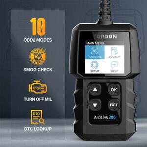Image 3 - Topdon ماسح ضوئي للسيارة AL300 ، أداة تشخيص السيارة ، قارئ رمز OBDII ، ماسح ضوئي لضوء المحرك ، PK CR319 ELM327 ، OBD2