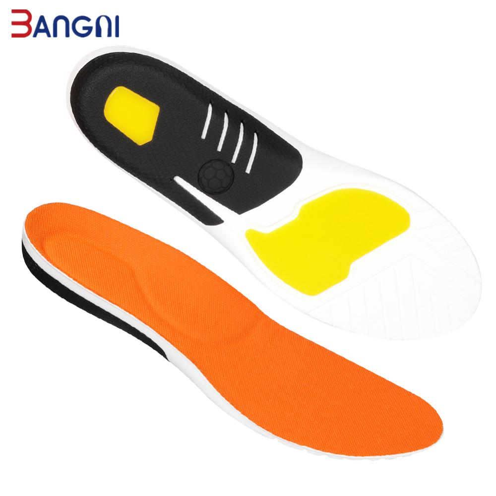 3ANGNI Orthotic Flat Feet TPU Arch Support Insoles Gel Deep Heel Cup Inserts For Plantar Fasciitis Orthopedic Shoes Padded Sole
