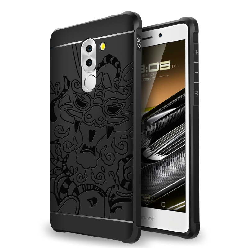 <font><b>Huawei</b></font> 6x Phone Case Protective Case <font><b>Huawei</b></font> <font><b>GR5</b></font> <font><b>2017</b></font> Phone Case Ultra-Thin Shatter-resistant All Edges Included Simple Dull Poli image