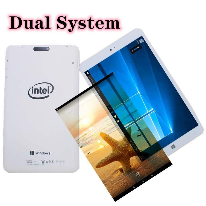 Android 5.1 + Windows 10 Home(Dual System) Tablet  8 inch W804 1280x800 2+32GB Blutooth 64-bit Operating System Quad Core