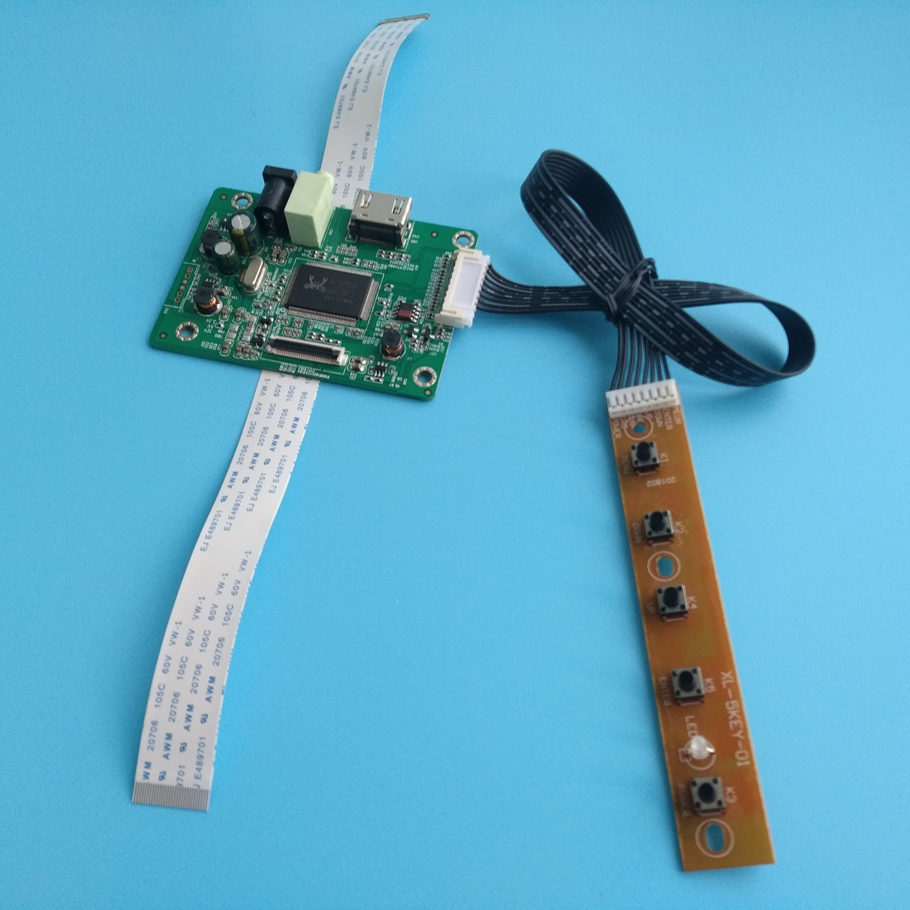 HDMI+VGA LCD EDP Controller Driver Board Kit for Panel HB140WX1-301 1366X768